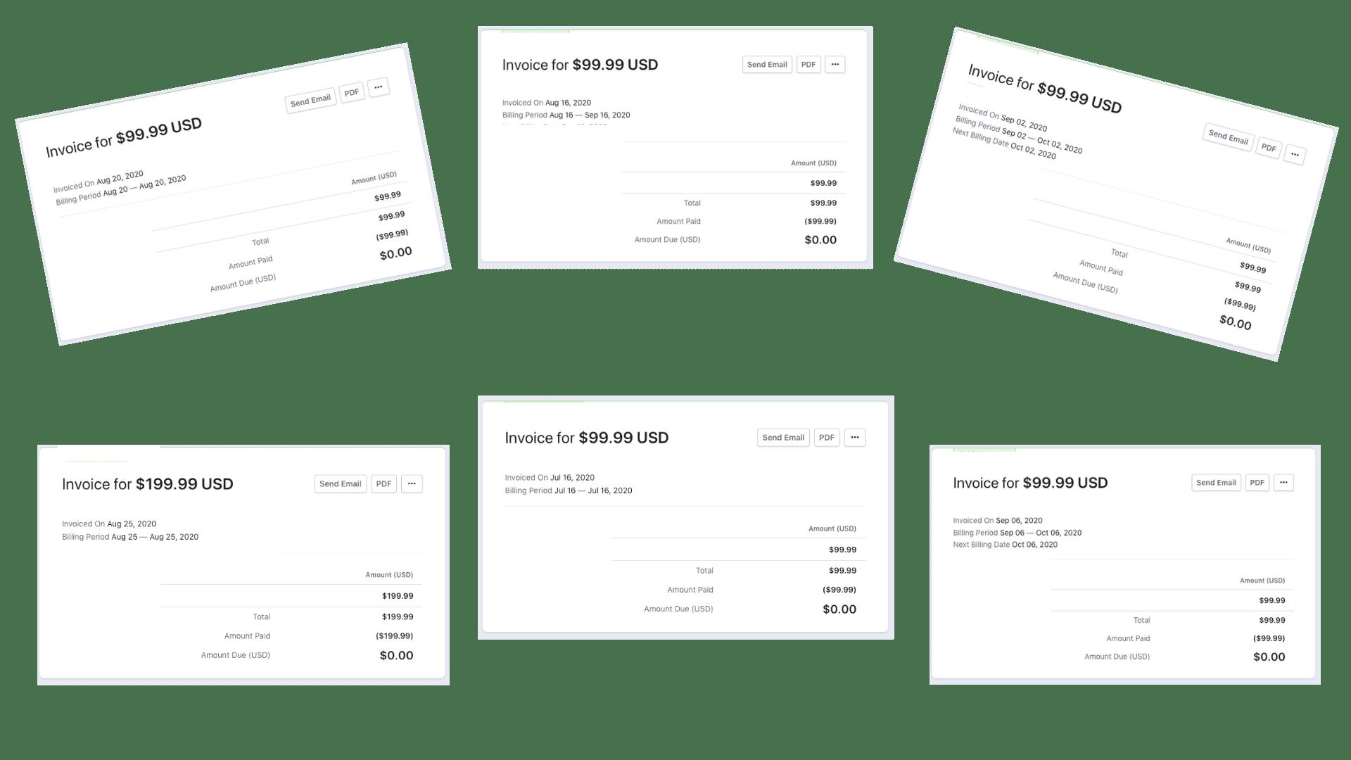 Credit Repair Cloud Payments I Received