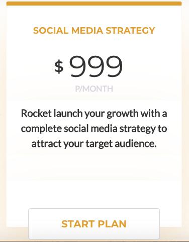 Social Sensei Plans: Social Media Strategy
