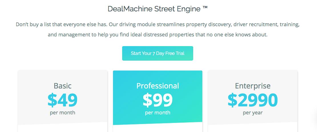 Deal Machine Pricing