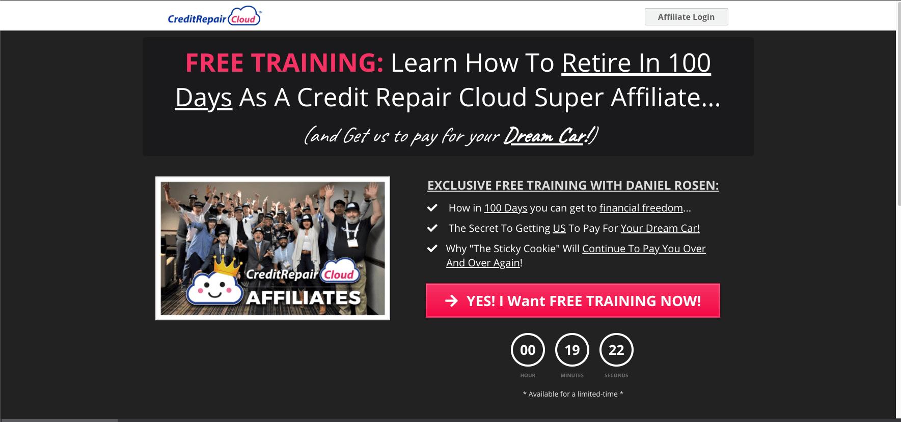 Credit Repair Cloud Affiliate Program
