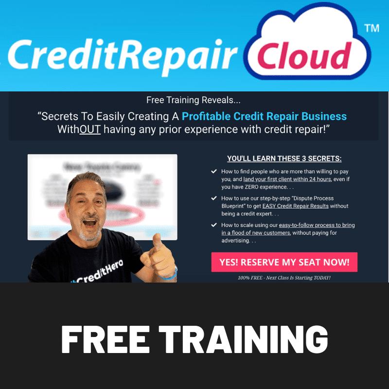 Credit Repair Cloud MasterClass