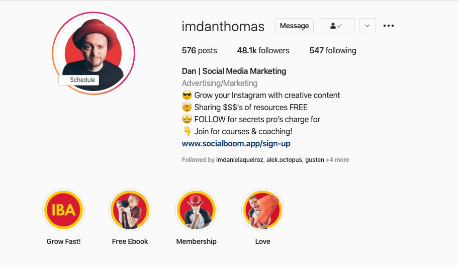 Imdanthomas Instagram