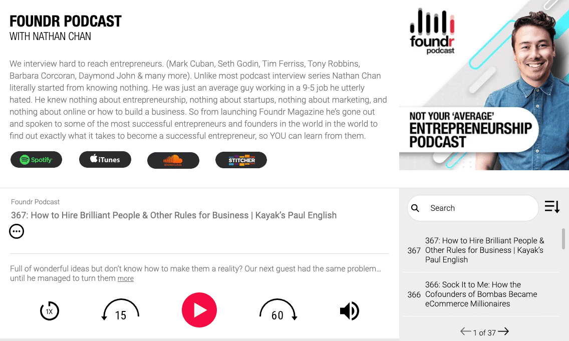 Foundr Podcast