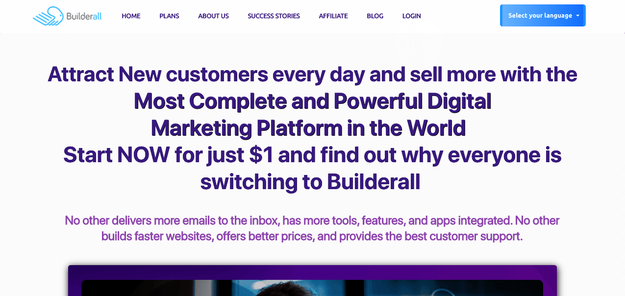 Builderall Sales Page