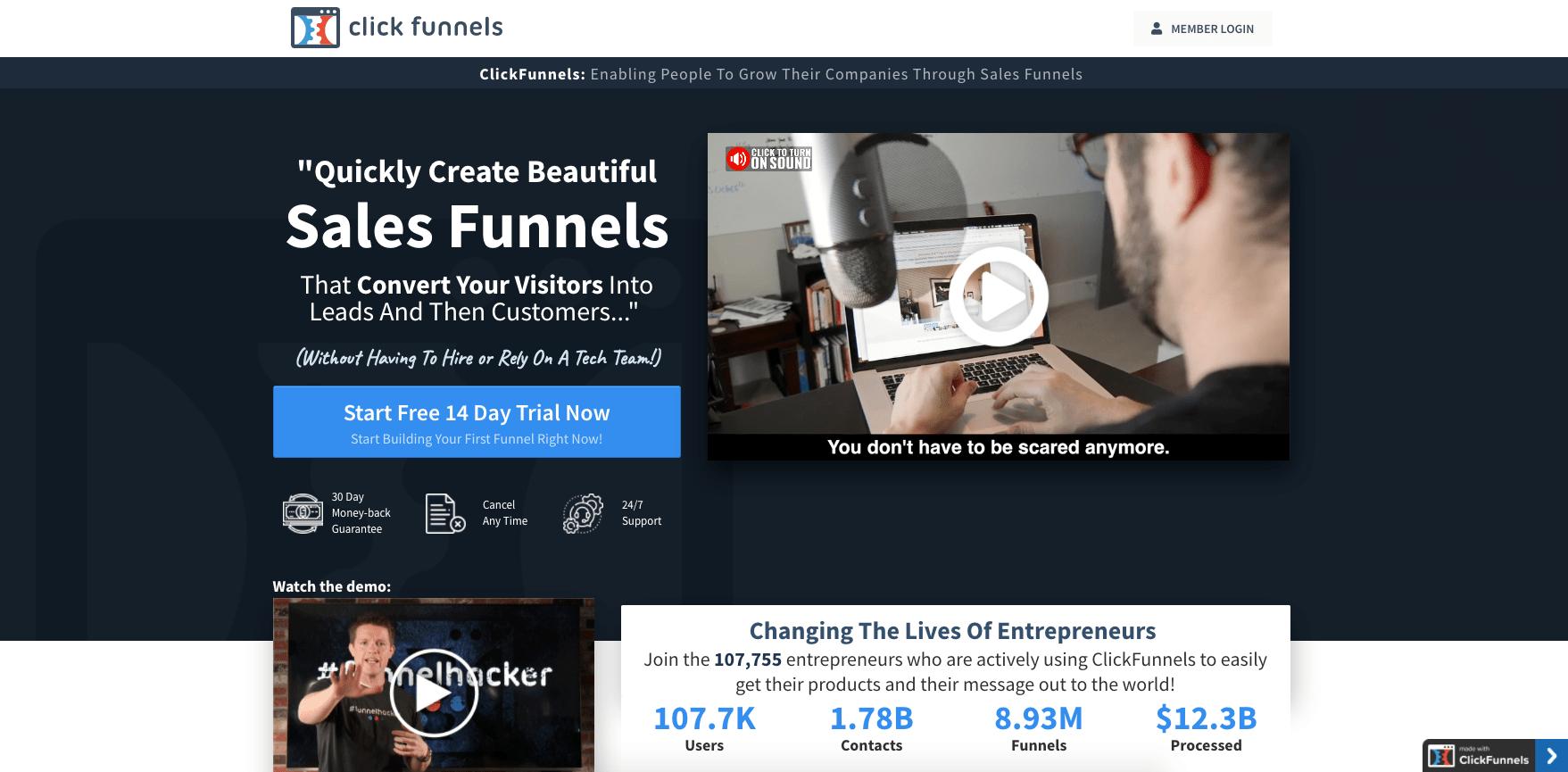 ClickFunnels Platform