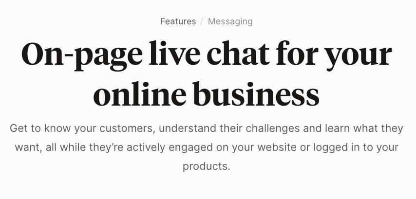 Podia Messaging
