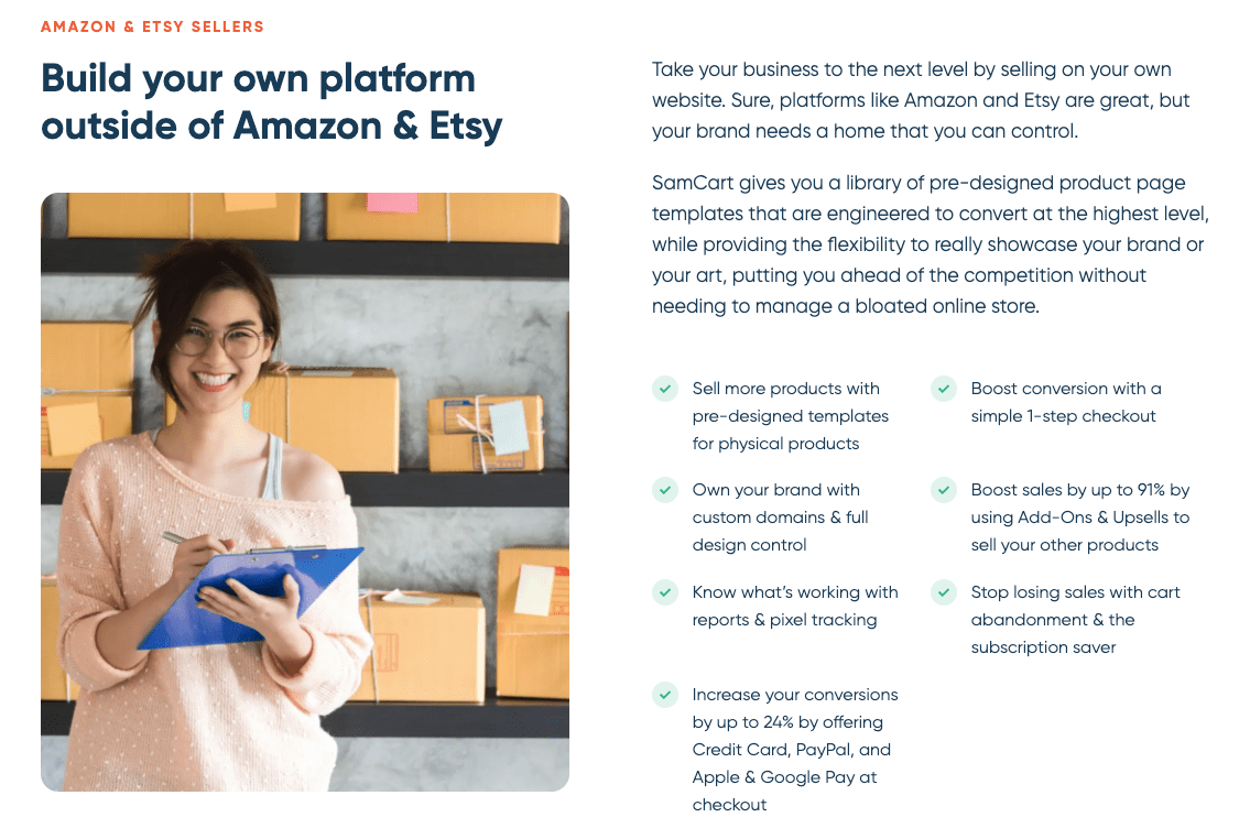 Amazon and Etsy Sellers