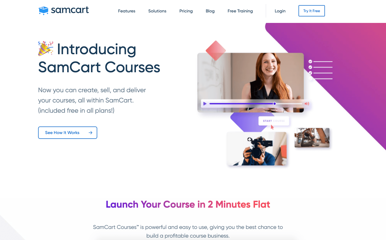 SamCart Courses