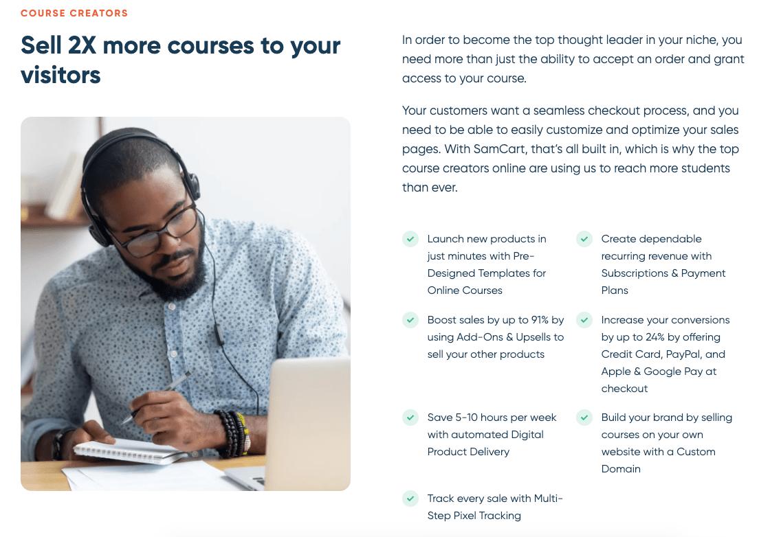 SamCart Course Creator