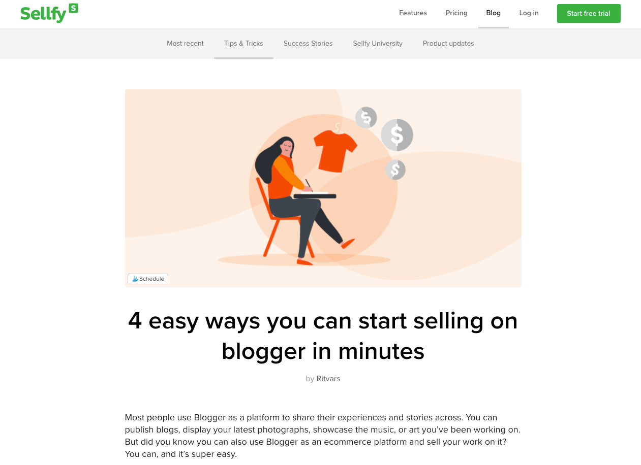 Sellfy Blog